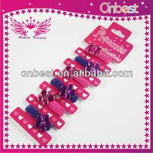 2013 girls hair elastic bands,elastic hair band,hair accessories for girls