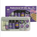 profesional completo conjunto uv gel kit de manicura