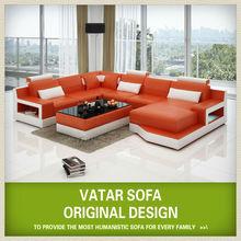modern range color imported leather sofa set H2206 ,leather corner sofa set ,modern china made sofa
