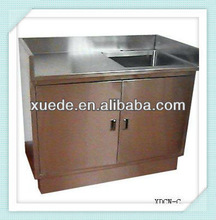 Commercial Stainless Steel Kitchen Cabinet with Sink
