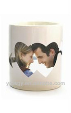 The sword feedthrough personalized color changing photo mug birthday present for male and female friends