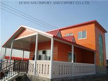 spacious leisure prefabricated wooden house/villa