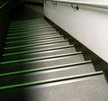 Paso/anti deslizamiento tratamiento/anti deslizamiento del piso de pintura/de hueso de la nariz de escalera