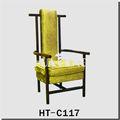 Personalizado- hechos hotel silla de respaldo alto/silla de estilo antiguo ht-c117