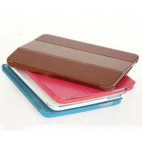 triple folding ultra slim leather case for galaxy tab 3 10.1
