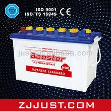 Super Start Lead Acid Dry Cell Car Battery N90 12V90AH