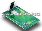 Credit Card USB Flash Thumb Drive, Memory Card