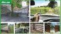 Em porte du jardin dimensions2 ouvre la porte battante 800kg avec télécommande/garden gate dimensions2/garden gate dimensi