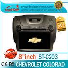 chevrolet s10 car radio with s100 platform A8 Chipset 3G WIFI GPS/BT/TV/Radio//IPOD/3-Zone POP... newly!