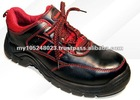 High Quality Black Leather Safety Shoe