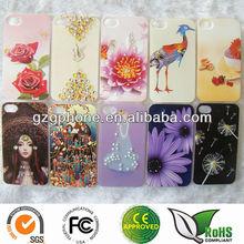Custom printed case DIY Bling case for iphone4/4S