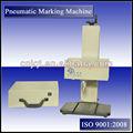 Gy pneumática metal pino dot marcador máquina da marcação industrial vin, número do chassi, 2d códigos máquina da marcação