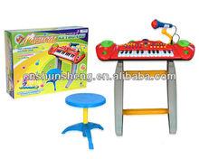Teclado del órgano electrónico. Órgano electrónico juguetes para niños