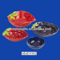 Hot selling wholesale custom fruit shaped Measuring Cup Pet Food