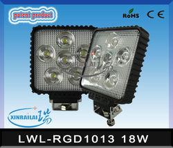 bmw auto accessories, 18w auto led work light waterproof ip68 RGD1013 bmw auto accessories