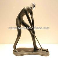 Custom resin golf statues