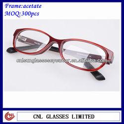 Good price shiny 2013 new memory flex optical frames