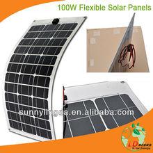 Hot Sale SLD-SMB-100W 1000 watt solar panel,100w flexible solar panel, 100 watt solar panel