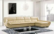 Modern design corner sofa leather furniture F853#