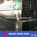 Erw tubo de acero cuadrado material de carbono para la construcción