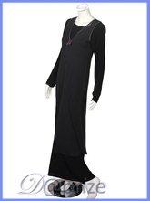 Pull-over abaya