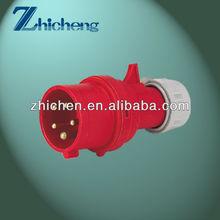 3P+N+E industrial plug