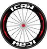 2014 popular carbon wheel 88mm clincher road racing bike wheelset logo customizing acceptable