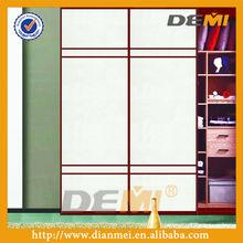 Custom made stylish sliding door for bedroom wardrobe