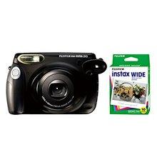Fuji film Instax Wide Camera instant Polaroid Wide 210 Black
