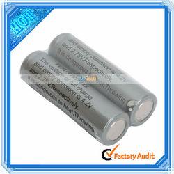 14500 3.6V 900mah Rechargeable Li-ion Battery Gray (88008065)
