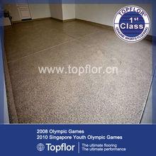 Smart Glitter sparkle vinyl safety flooring roll with beige color