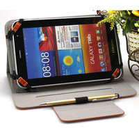 """New design book flip cover for samsung galaxy tab 3 10.1"""" case"""