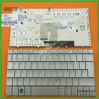 For sale new original laptop keyboard for HP MINI 2133 2140 SILVER Layout Spanish mini laptop keyboard