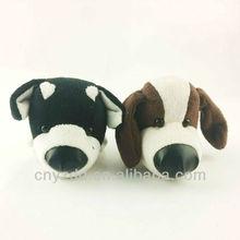 big head stuffed plush dog/big head dog/plush big head dog toy