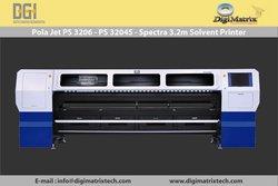 Large format solvent printer