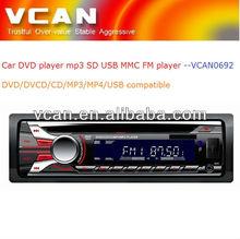 car stereo wireless fm transmitter/ one din car DVD player mp3 FM USB SD MMC card player