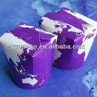 Flexo printing colored buckets pails/halloween buckets/paper barrel