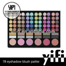 Whosaler ! best 78 color makeup palette new model developed. for oem service only.