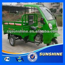 Low Cut Distinctive three wheeler gas motor tricycle