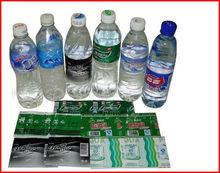 Water Bottle PVC Shrink Label Providing DXC828-17