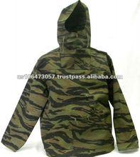 Men Windbreak Polyester Hoody Jacket