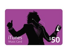 iTunes $50 Gift Card US Store
