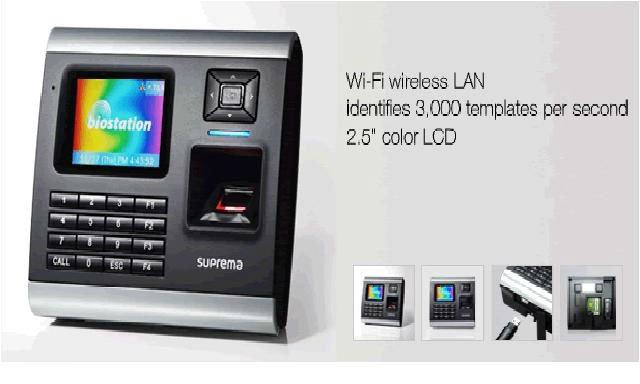 SUPREMA Biometrics card reader