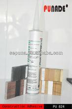 China elasticity polyurethane pu wood floor bonding glue