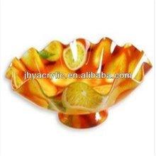 Updated promotional acrylic fruit tray