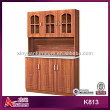 K813 modern design cupboard wooden kitchen furniture 2012