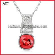 2014 manufacturer direct sale Gold Plated New Square Design Pendant pendant ornament