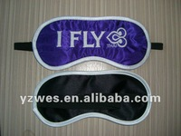 Satin material for Thai Airways Company eyemask embroidery