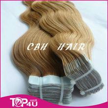 hair extension free sample tape hair skin weft
