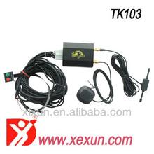Tk103-2 Xexun cheap gps car tracker engine cut off